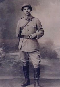 1917 - Pierre LANDRIEU (121) - Soldat - 87° Régiment d'Artillerie Lourde
