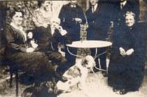 # 1925 - Jeanne LAMBERT-LANDRIEU (x 42) - Georges LANDRIEU (42) - Mme LAMBERT (?)