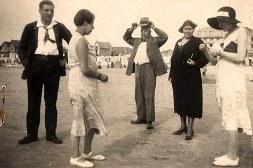 1931 - Famille Gaston LANDRIEU (17) - A Fort-Mahon Plage (80) - Henri LANDRIEU (163) - Andrée LANDRIEU (174) - Gaston LANDRIEU (17) - ? - ?