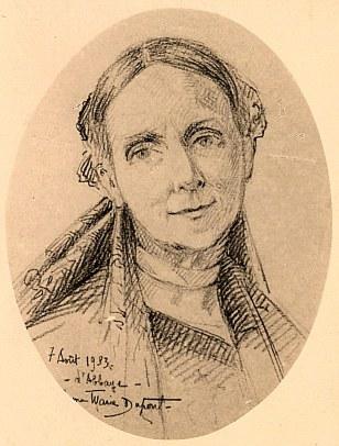 1932 - Palmyre LANDRIEU-DUPONT (21) - Dessin d'Anne-Marie DUPONT (211)