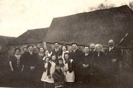 1924 ou 25 - Fiançailles de Michel LANDRIEU (171) et de Noémie POYER