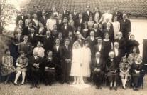 ler Juin 1926 - Mariage de Denis LANDRIEU et de Gisèle POYER - Sainte-Austreberthe (62)