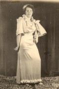 1935 - Andrée LANDRIEU au mariage de Lucien et Marcelle LANDRIEU