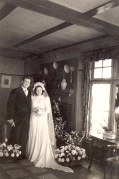 """16 Avril 1947 : Mariage de Jacqueline LANDRIEU (1731), avec son mari Jean DUCROCQ, à """"La Vigie"""""""