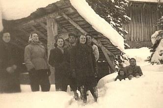 """Janvier 1951 à Morzine - """"Les Ardoisières"""""""
