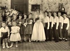 1958 - Mariage de Max LANDRIEU (1713) et de Geneviève LEFRANCOIS
