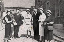 1959 - A Blécourt, au mariage de Marie-Paule BEAUVOIS