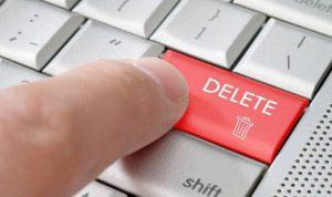 サイト運営者から削除される投稿