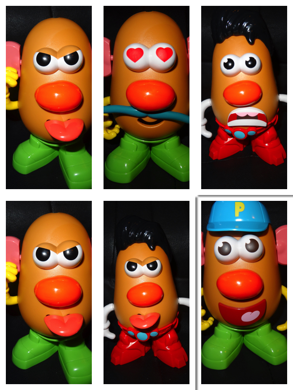émotions mr patate