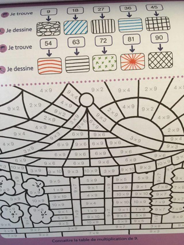 Des Coloriages Magiques Pour Apprendre Les Tables Daddition Et De