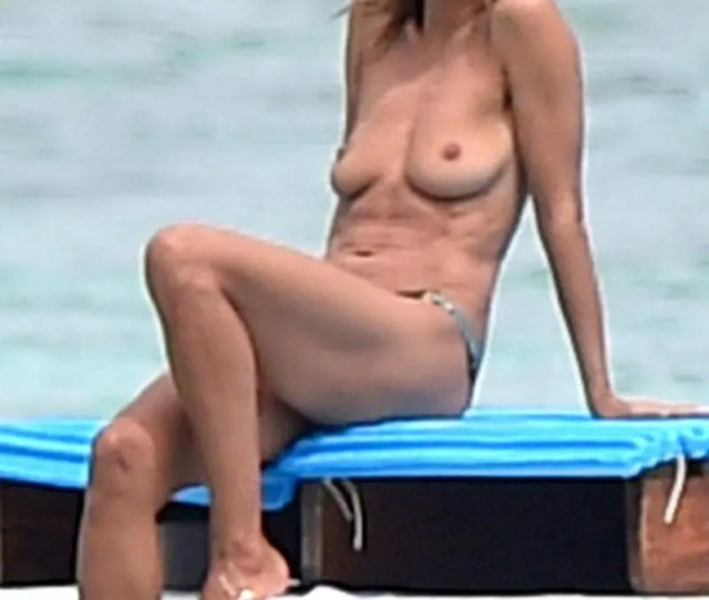 But Is Finally Divorced From That Pop Singing Seal Guy Hes Total Beefcake Actress Heidi Klum Topless And Fantastic Ass In Thongs 15