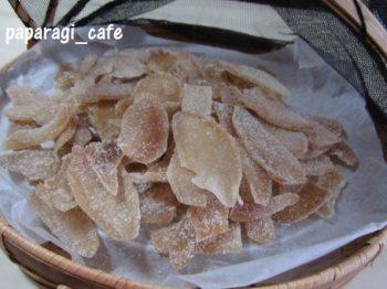 新生姜の砂糖漬-5