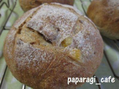 レーズンと胡桃の田舎パン2013-3
