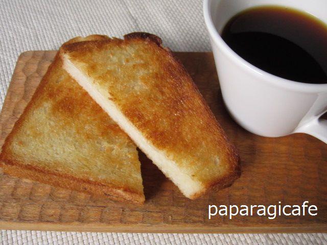 トーストのバターは先塗りで♪
