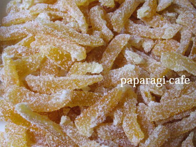 河内晩柑の砂糖漬けを作りました♪