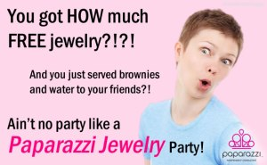 How much free jewelry can I get at my Paparazzi party