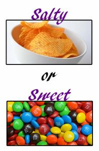 Salty or Sweet | Paparazzi party games
