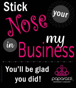 Stick your Nose in my Business | Paparazzi Accessories