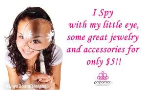 I spy some $5 Jewelry - Paparazzi accessories