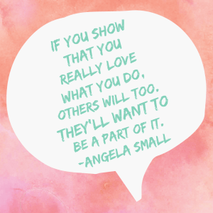 Angela Small - Paparazzi Jewelry Elite Leader quote