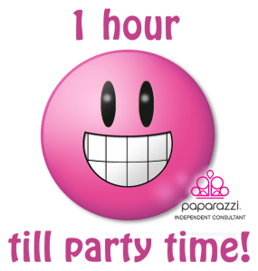 1 hour left till the Paparazzi Jewelry Party