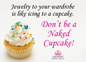 Jewelry is like icing to a cupcake.