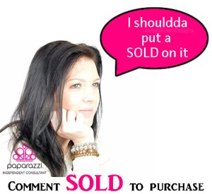 I shouldda Put a Sold on it - Paparazzi Jewelry image