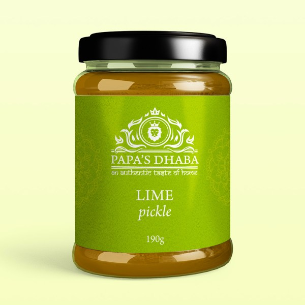 Papa's Dhaba – Lime Pickle