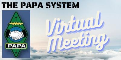 PAPA Virtual Meeting Logo