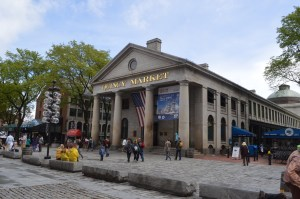 Visiter Boston - Quincy Market