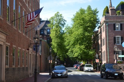 Boston en famille : Beacon Hill