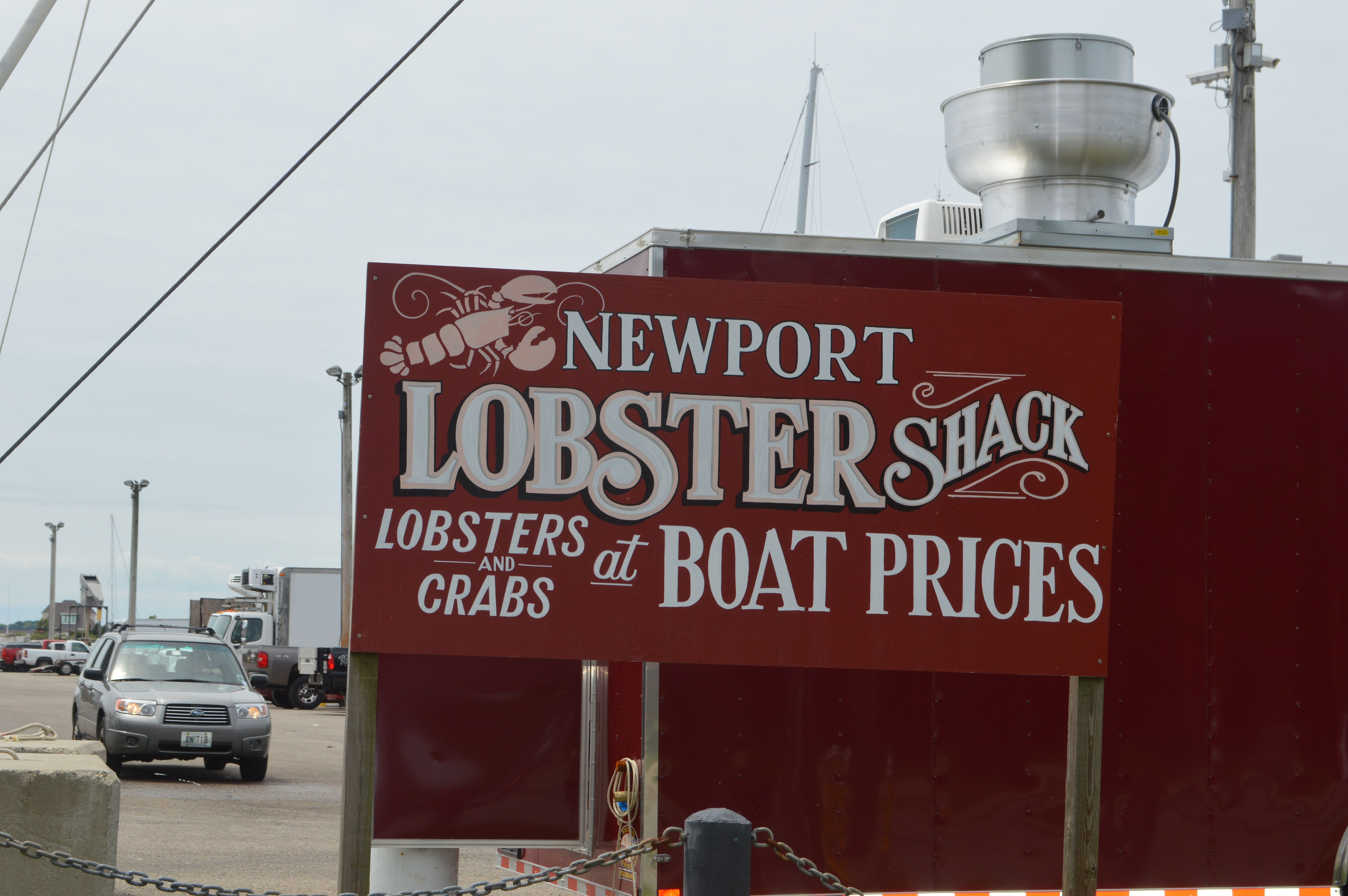 Que faire à Boston - Newport Lobster Shack