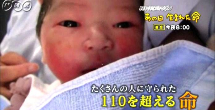 311東日本大震災、被災地で誕生した110の新しい命。NHKスペシャル「あの日 生まれた命」。