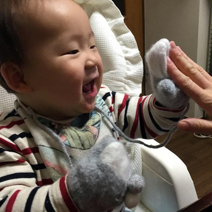 子供用の手袋