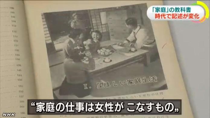 昭和33年「家事の仕事は女性がこなすもの」