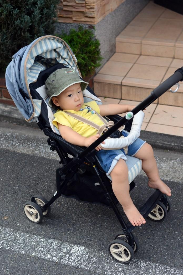 コンビ「メチャカルハンディα」 1歳4カ月