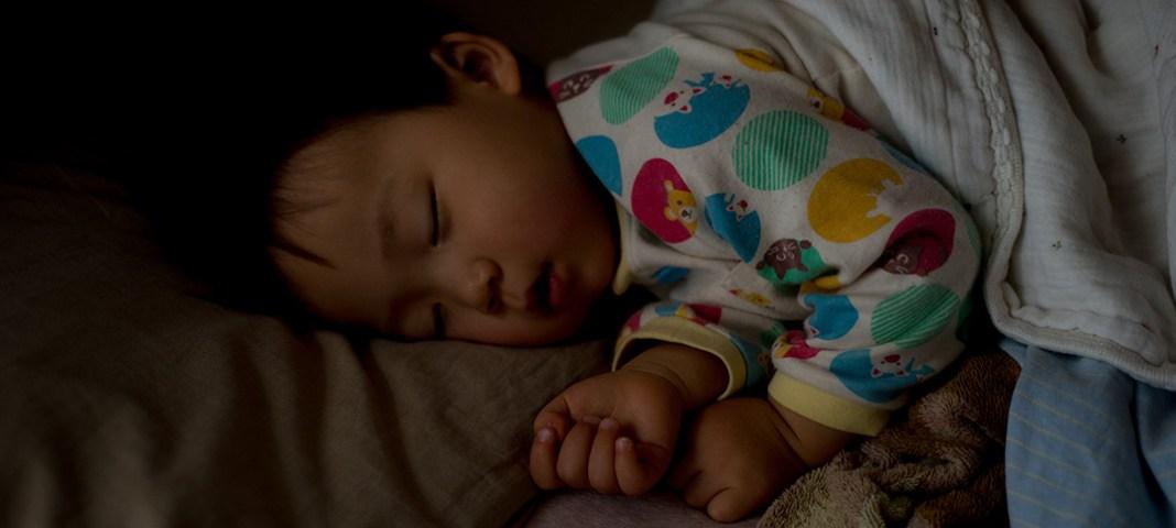 1歳11ヶ月、なかなか寝ない。