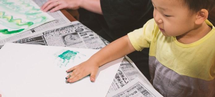 2歳の手形