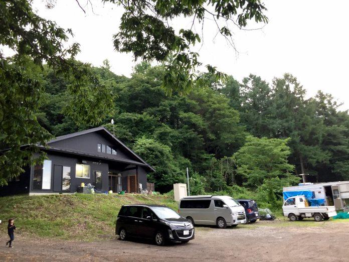 北軽井沢の秘境温泉・かくれの湯
