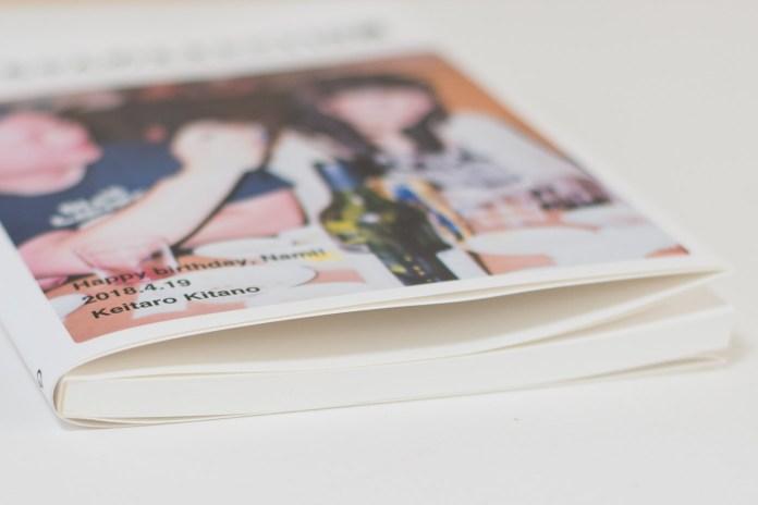Photoback「LIFE」120ページの厚み