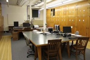 Peabody basement work room - before