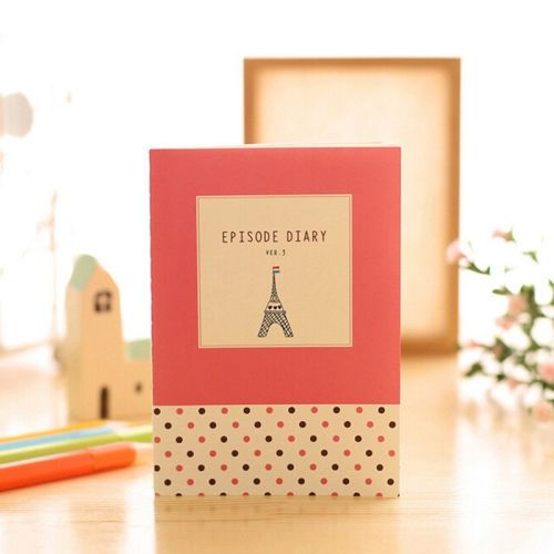 Cuaderno viajar torre Eiffel