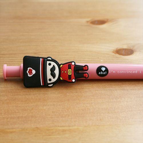 Bolígrafo Guardia real rosa