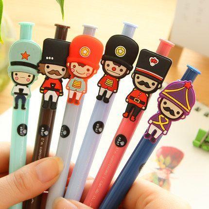Bolígrafos guardias reales