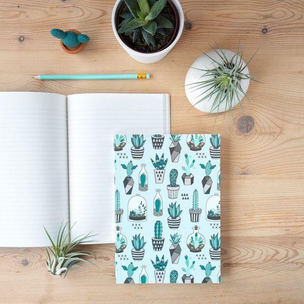 Cuadernos Cactus Lover interior rayado