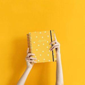 Agenda Charuca amarilla