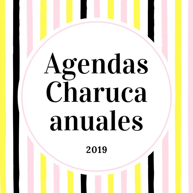 Agendas Charuca anuales 2019