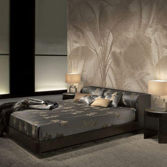 AIDA 9022 - Mural Aida 100% seda de la colección Armani Casa. Disponible en 3 colores