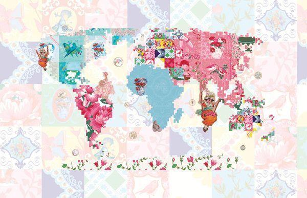 World-Map-Patterns