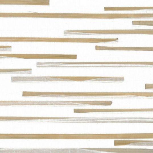 kam102 - Revestimiento mural de tiras de madera y papel de la colección Kami-ito Ref. KAM102